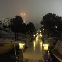 Photo taken at Cedar Point Marina by Matt L. on 10/13/2017