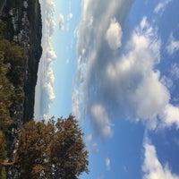 Photo taken at Uskumruköy by Ece Noyan K. on 9/18/2018