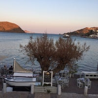 Photo taken at Tzivaeri Restaurant Patmos by Hakan K. on 8/23/2017