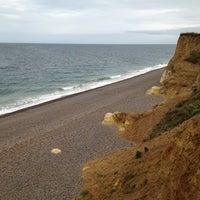 Photo taken at Weybourne Beach by Al K. on 10/21/2012