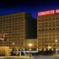 Photo taken at The Congress Plaza Hotel by Thanh Trung N. on 11/24/2012