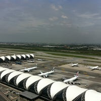 Photo taken at Suvarnabhumi Airport (BKK) by Phanu P. on 7/17/2013