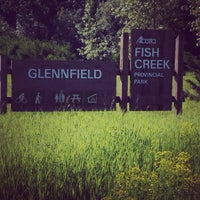Photo taken at Fish Creek Park - Glennfield by Alan F. on 7/2/2014