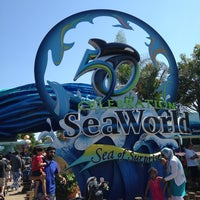 Photo taken at SeaWorld Annual Passport Member Entrance by Tatyana S. on 8/4/2014