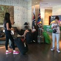 Photo taken at Alhamar Hotel Granada by Tatyana S. on 8/27/2014