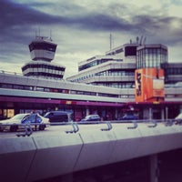 Photo taken at Berlin Tegel Otto Lilienthal Airport (TXL) by Michael P. on 8/16/2013