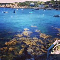 Photo taken at Rockport Harbor by Michael P. on 9/24/2013
