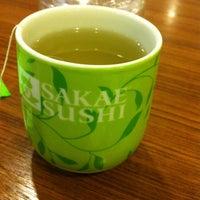 Photo taken at Sakae Sushi by Wan A. on 5/11/2013