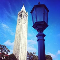 Photo taken at Campanile (Sather Tower) by Phillip N. on 6/13/2013
