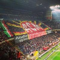"Photo taken at Stadio San Siro ""Giuseppe Meazza"" by Vi S. on 4/14/2013"