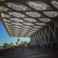 Photo taken at Marrakech Menara Airport (RAK) by Vi S. on 7/25/2013