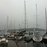 Photo taken at Hjellestad Marina by Andrey B. on 7/14/2013