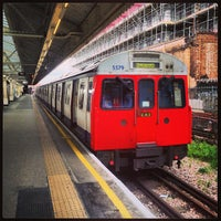 Photo taken at Hammersmith London Underground Station (Circle and H&C lines) by James G. on 4/19/2013