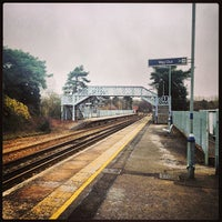 Photo taken at Yalding Railway Station (YAL) by James G. on 3/11/2013