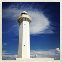 Photo taken at Hennasaki Lighthouse by akakeno on 7/8/2013