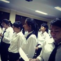 Photo taken at Sekolah Tinggi Ilmu Kesehatan (STIKES) Wira Medika PPNI Bali by Antow C. on 9/26/2013