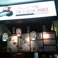 Photo taken at Denise & Polly's The Classic Roast Duck by Joie S. on 4/3/2014