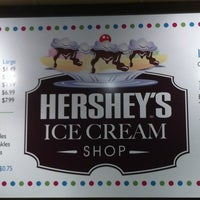 Photo taken at Hershey's Ice Cream Shoppe by Melissa T. on 10/18/2012