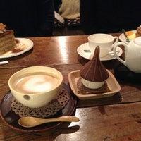 Photo taken at cafe ハナあかり by Yoshihide H. on 12/30/2012