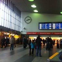 Photo taken at Würzburg Hauptbahnhof by Simon W. on 3/29/2013