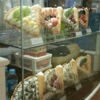 Photo taken at Crepe Cafe' by Punnachet J. on 10/4/2012