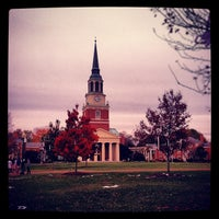 Photo taken at Wake Forest University by Jim S. on 11/4/2012