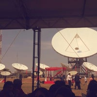 Photo taken at Estacion Terrena Aregua_ COPACO by Sandrusk on 10/16/2014