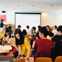 Photo taken at 知るカフェ同志社大学前店 by Tadahiro I. on 8/5/2018