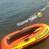 Photo taken at Efirli Plajı by Şeyma T. on 9/16/2017