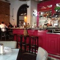 Photo taken at Cafe~Cafe by Tom G. on 7/21/2013