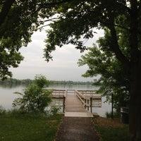 Photo taken at Lake Nokomis Fishing Dock by SemiToxic on 6/12/2013