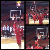 Photo taken at Fifth Third Arena | Myrl H Shoemaker Center by Morgan S. on 1/30/2013