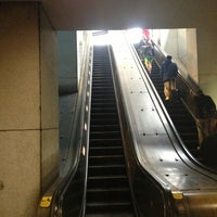 Photo taken at Farragut North Metro Station by John on 3/16/2013