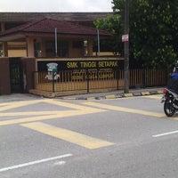 Photo taken at Sekolah Menengah Kebangsaan Tinggi Setapak by MJ on 4/16/2014