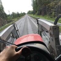 Photo taken at E63/VT9 Tampereen valtatie by Henrik M. on 6/8/2016