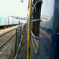 Photo taken at Panvel Railway Station by Bhuvnesh K. on 9/29/2012