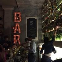 Photo taken at 5 Cocktails & More by Nesrin Gizem K. on 2/13/2016