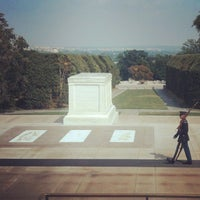 Photo taken at Tomb of the Unknowns by Louis T. on 8/28/2013