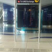 Photo taken at Emirates Metro Station محطة مترو طيران الإمارات by Nikhil I. on 9/26/2016