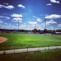 Photo taken at Cameron Stadium by Greg E. on 7/27/2013