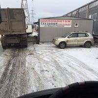 Photo taken at Грузовой шиномонтаж by Алексей Т. on 12/29/2016