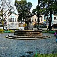 Photo taken at Praça Condessa Paulo de Frontin by Loren on 4/3/2013