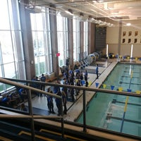 Photo taken at Carmel Aquatic Center at Carmel High School by David v. on 11/15/2014