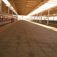 Photo taken at 秦皇岛站 Qinhuangdao Railway Station by Pazzilivo A. on 9/1/2013