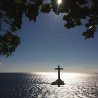 Photo taken at Sunken Cemetery Cross by Reena R. on 4/21/2017