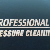 Photo taken at Profession Pressure Cleaning by Ricky K. on 7/23/2014