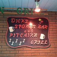 Photo taken at Dicks Sports Bar & Grill by Ricky K. on 2/2/2014