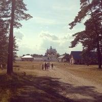Photo taken at Коневецкий монастырь by Max B. on 8/9/2014
