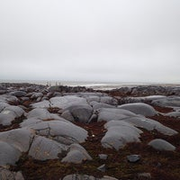 Photo taken at Hudson Bay Beach by Mike S. on 10/26/2014