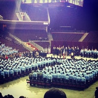 Photo taken at Galen Center (GEC) by Karla a. on 12/16/2012